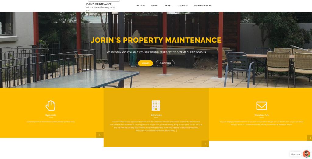 jorins website